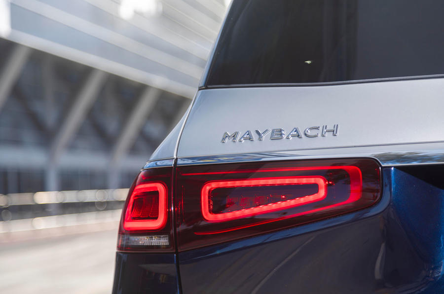 Mercedes-Maybach GLS 600 2020 first drive review - rear lights