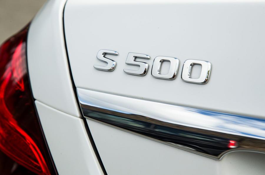 Mercedes-Benz S-Class S500L 2018 long-term review - boot badge