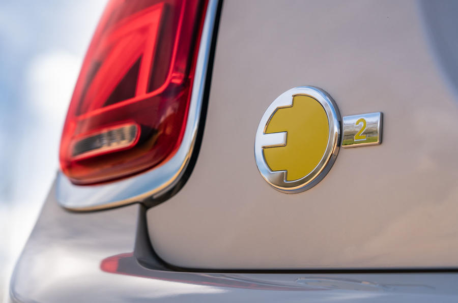 Mini Electric 2020 UK first drive review - rear lights