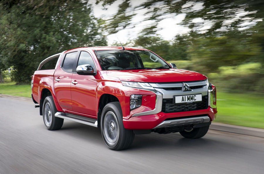 Top 10 pickup trucks 2020 - Mitsubishi L200