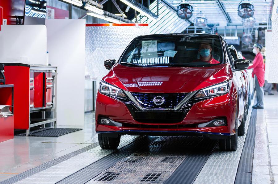 Nissan Leaf production