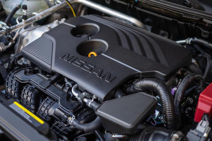 9 Nissan Rogue 2021 USA FD moteur
