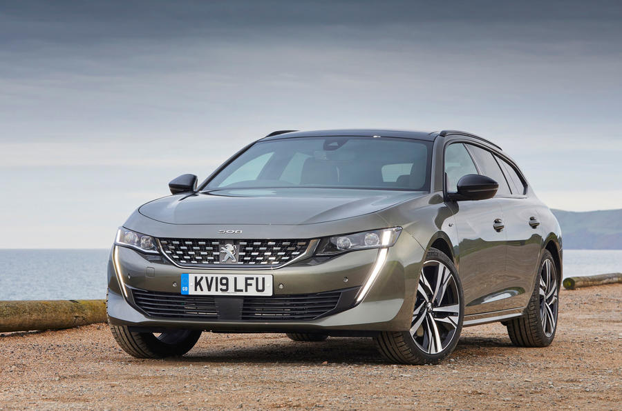 Peugeot 508 SW PureTech 225 GT 2019 UK first drive review - static nose