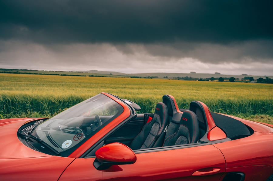 Porsche 718 Boxster GTS 4.0 2020 UK first drive review - seats