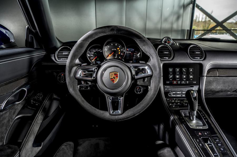 Porsche 718 Boxster GTS 4.0 PDK 2020 : premier bilan de conduite au Royaume-Uni - tableau de bord
