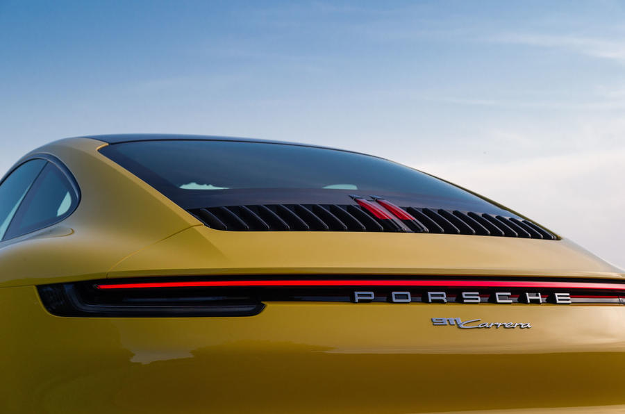 Porsche 911 Carrera 2019 first drive review - rear end