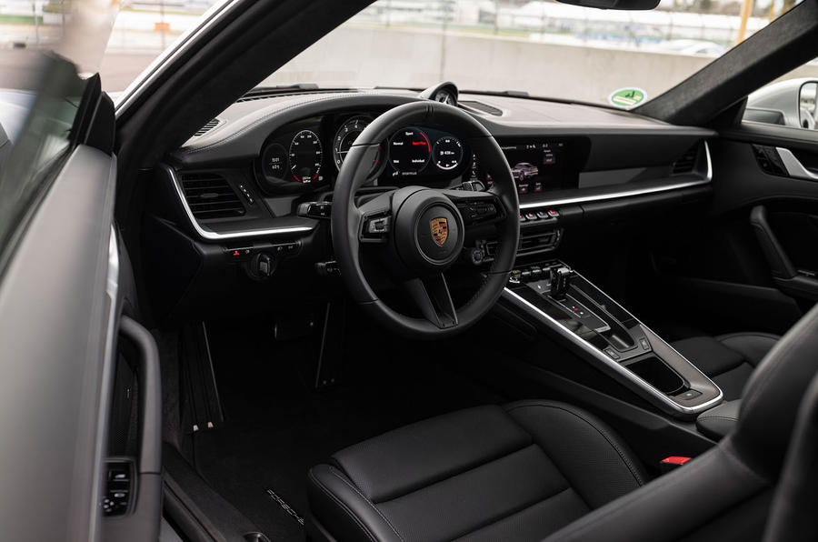 Porsche 911 Turbo S 2020 first drive review - dashboard
