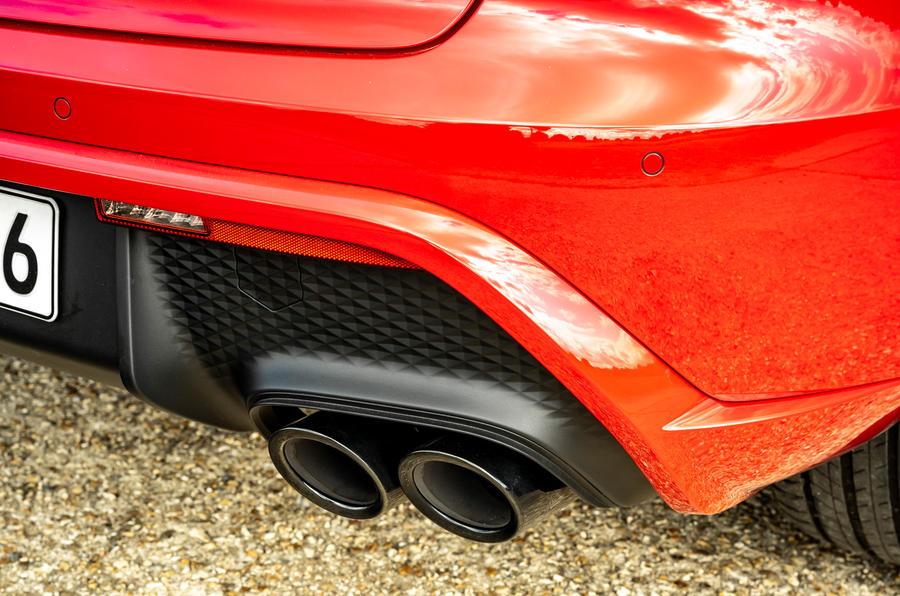 9 Échappements du premier essai de la Porsche Macan GTS 2021 UE LHD