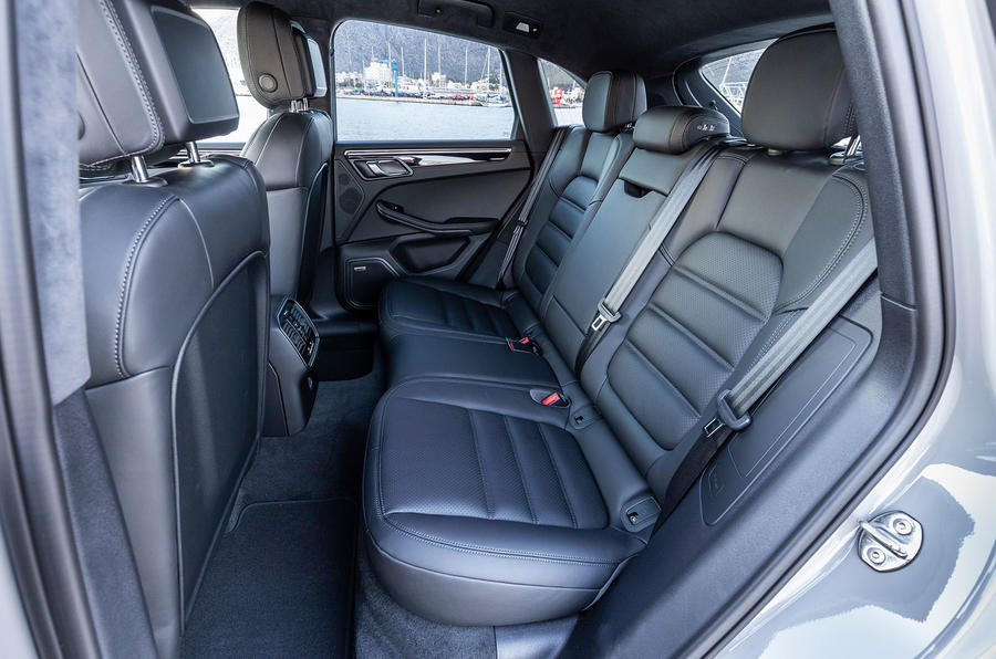Porsche Macan S 2019 first drive review - rear seats