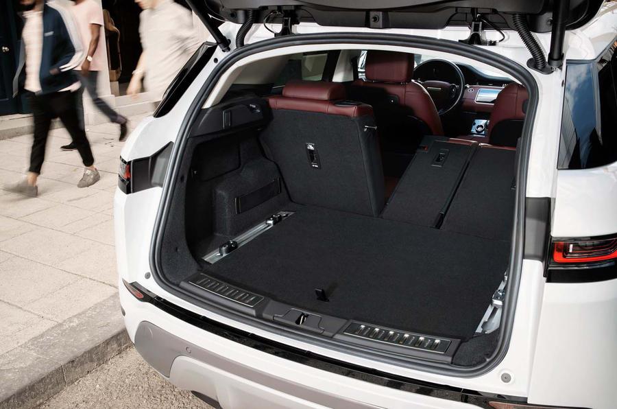 Range Rover Evoque 2019 official reveal - boot