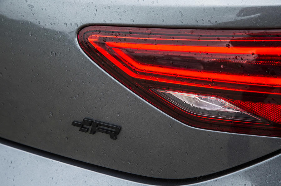 Seat Leon Cupra R 2018 UK review rear lights