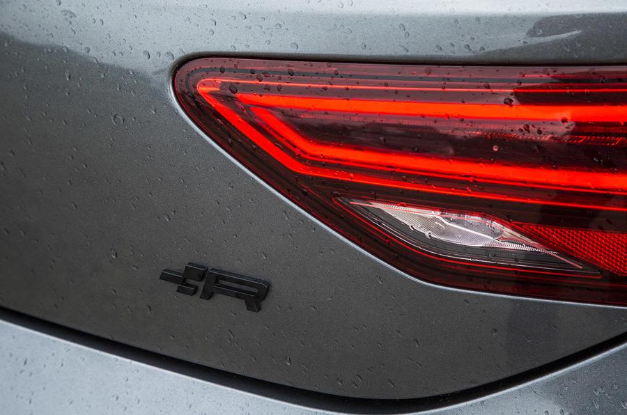Seat Leon Cupra R 2018 UK review rear lights