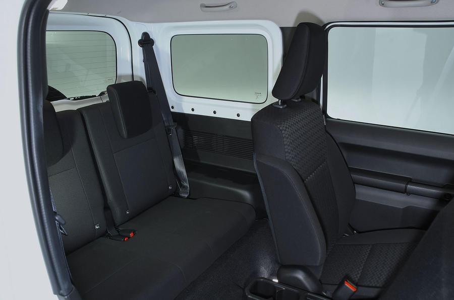 Suzuki Jimny 2018 UK first drive review - rear seats