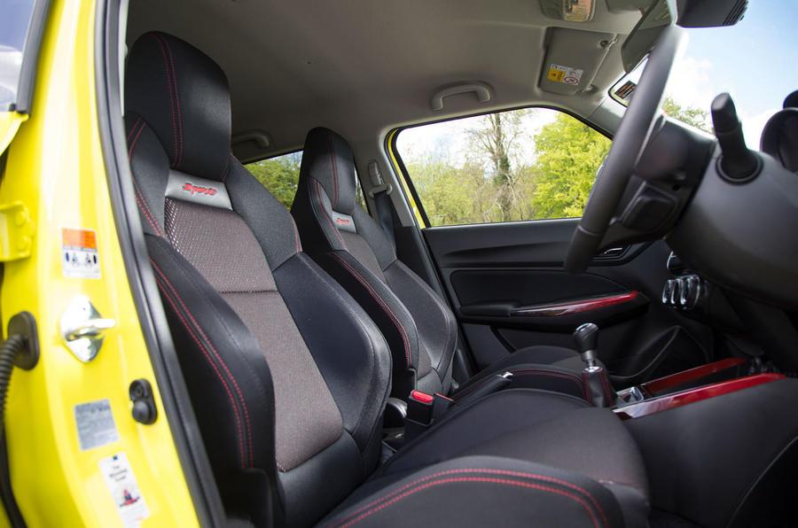 Suzuki Swift Sport 2018 long-term review cabin