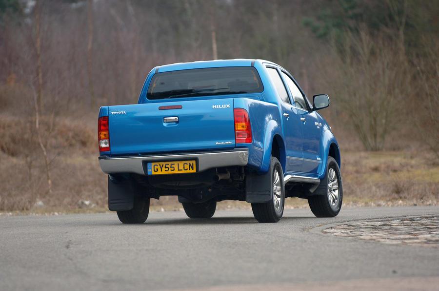 Toyota Hilux - hero rear