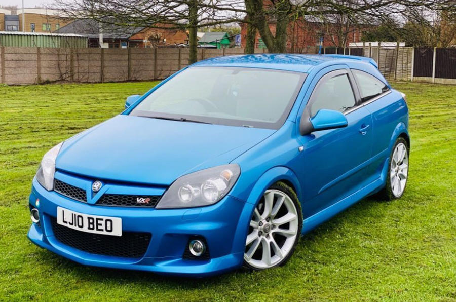 Vauxhall Astra VXR - static front