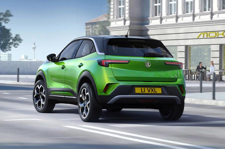 Vauxhall Mokka - hero rear