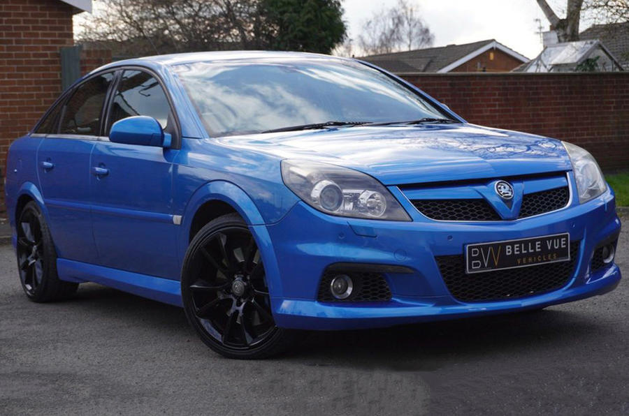 Vauxhall Vectra VXR - static front