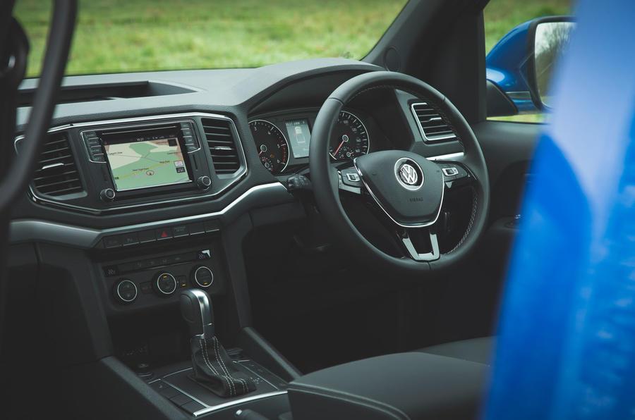 Volkswagen Amarok Aventura 2019 first drive review - dashboard