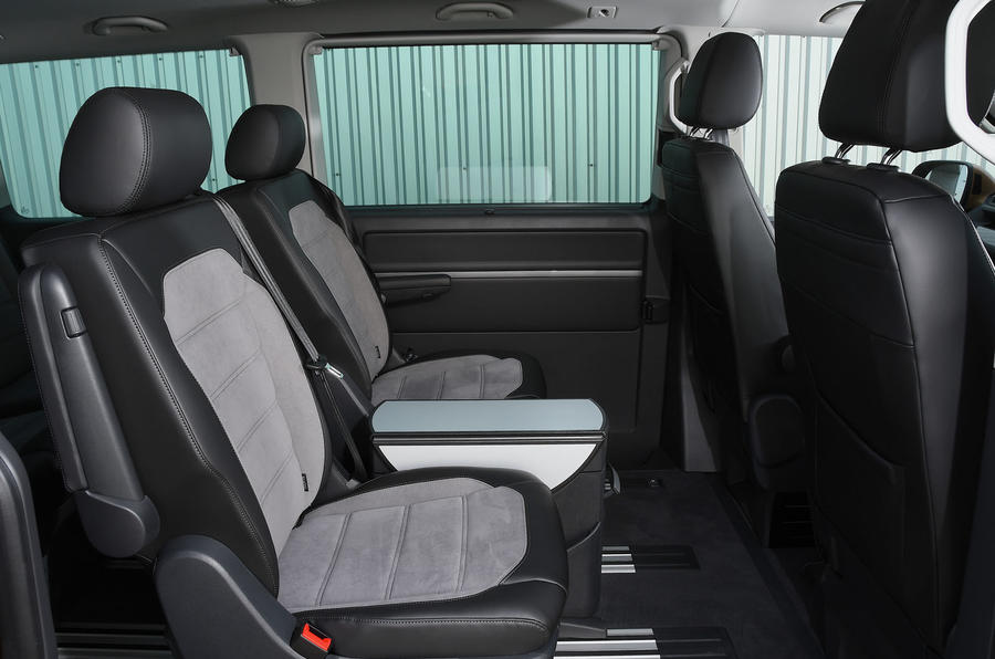 Volkswagen Caravelle 2020 UK first drive review - middle row