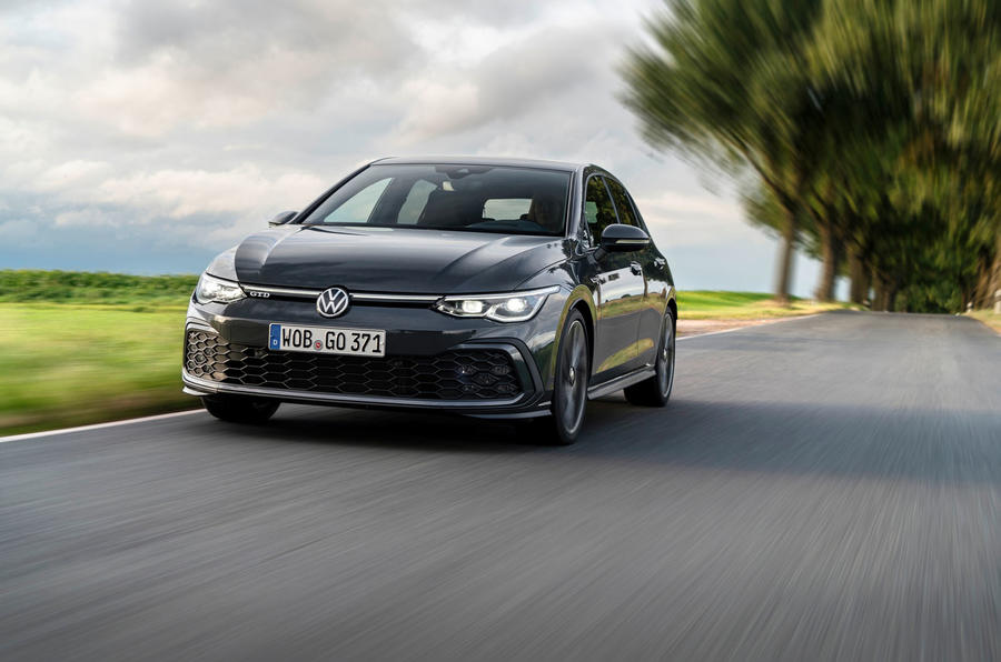 Volkswagen Golf GTD 2020 first drive review - on the road front
