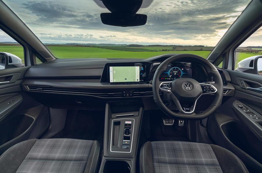 9 Volkswagen Golf GTD 2021 : premier tableau de bord de l'examen de conduite au Royaume-Uni