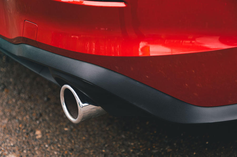 Volkswagen Golf GTI 2020 UK first drive review - exhausts