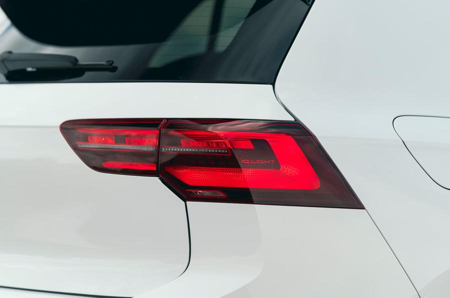 9 Feux arrière de la Volkswagen Golf GTI Clubsport 45 2021 UE FD