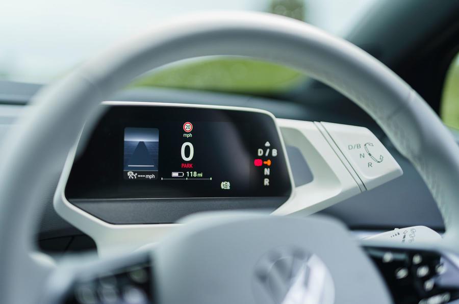 9 Volkswagen ID 4 2021 UE : essai routier - Instruments