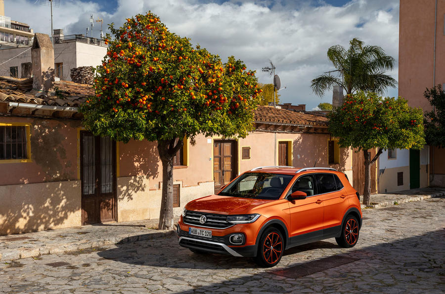 Volkswagen T-Cross 2019 first drive review - static front