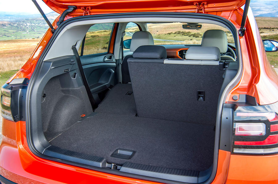 Volkswagen T-Cross 2019 UK first drive review - boot