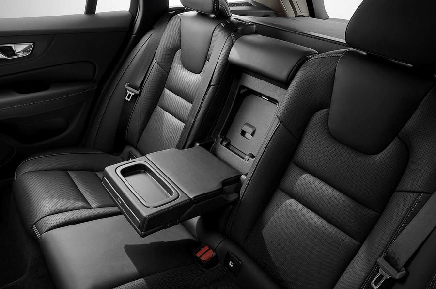 Volvo V60 2018 review rear seats