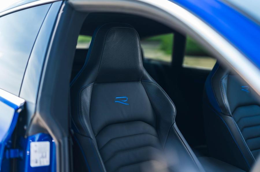 9 VW arteon R Shooting Brake 2021 UE FD sièges avant