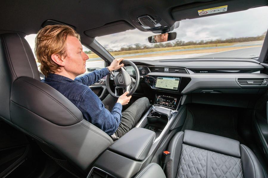 Audi E-tron S Sportback prototype drive - Richard Lane driving