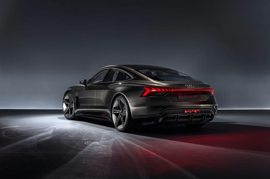 Audi E-tron GT concept static rear