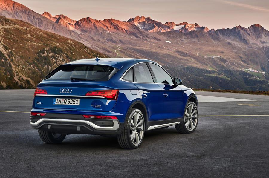 Audi Q5 Sportback 2020 official images - rear