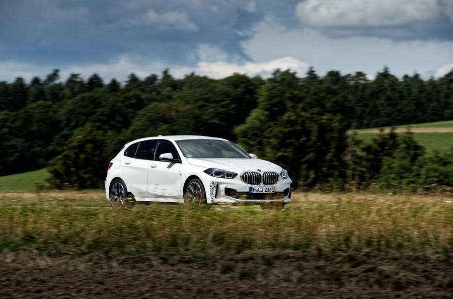 BMW 1 Series 128ti prototype 2020 first drive review - on the road side