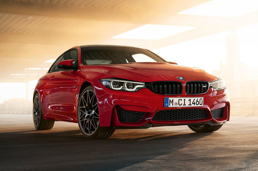 BMW M4 Edition M Heritage official press - red
