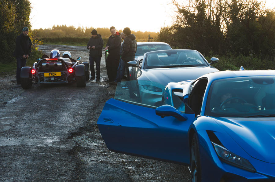 Britain's best drivers car 2020 - on-road reportage