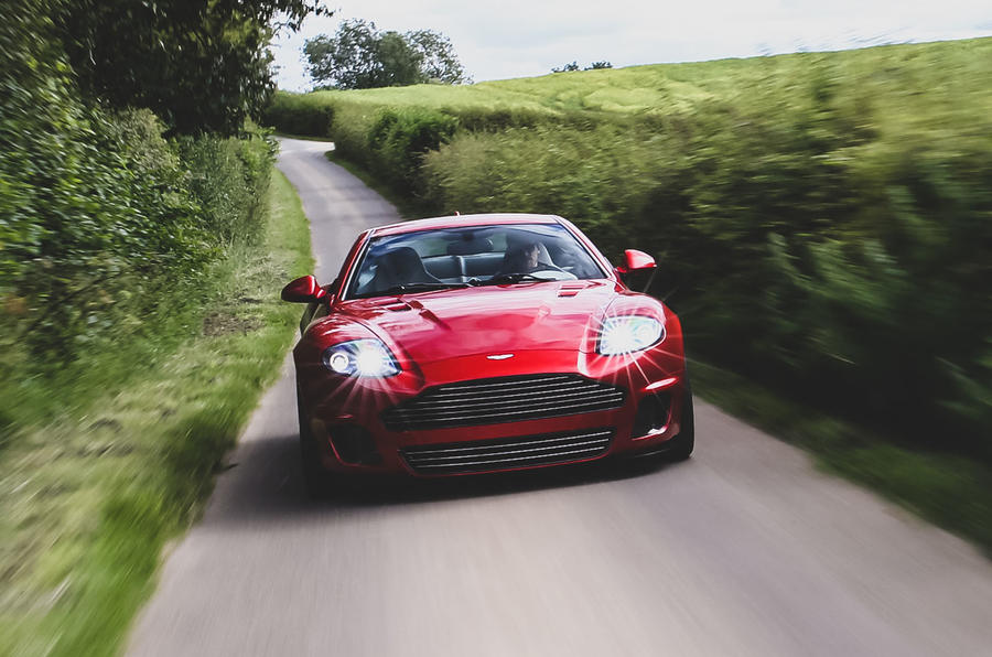 Callum Aston Martin Vanquish 25 first drive review - on the road front