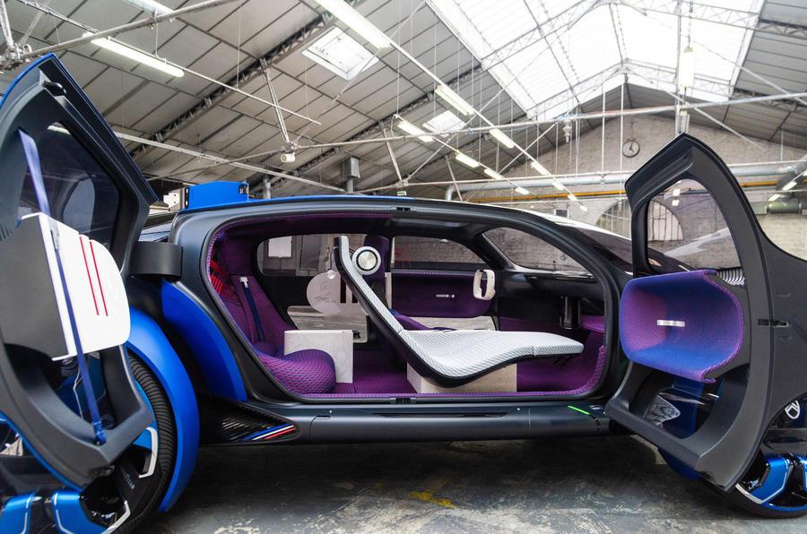 Citroen 19_19 concept official reveal - interior
