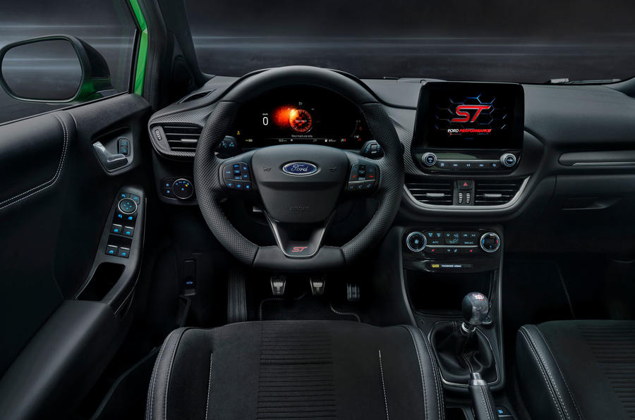 Ford Puma ST official images - dashboard
