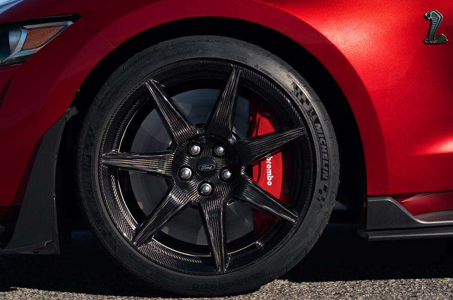 Ford Shelby Mustang GT500 official reveal - alloy wheels