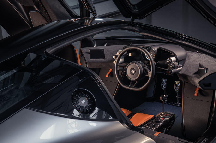 Gordon Murray Automotive T50 - interior