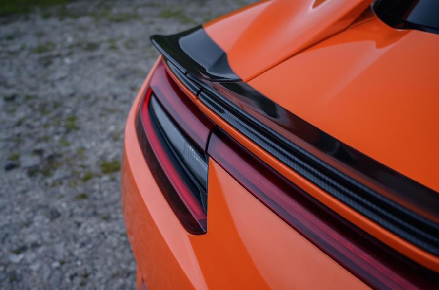 Honda NSX hybrid supercar feature - rear lights