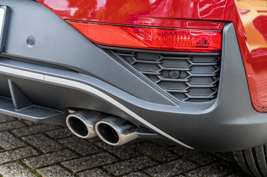2020 Hyundai i30 N-Line prototype drive review - exhaust