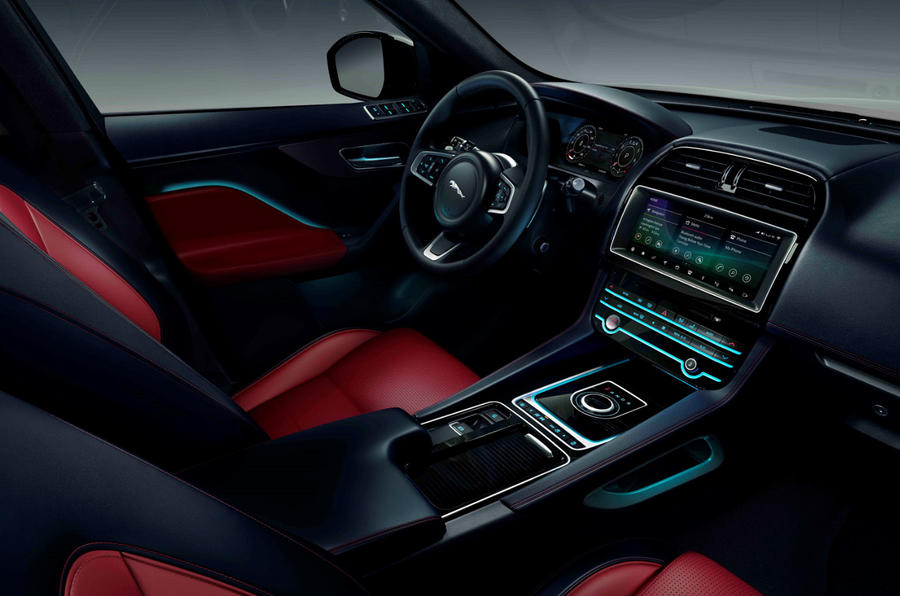 Jaguar F-Pace Chequered Flag edition - interior