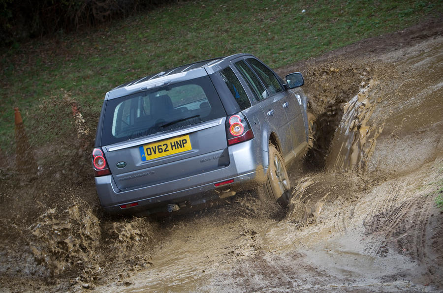Land Rover Freelander 2 used buying guide - wading rear