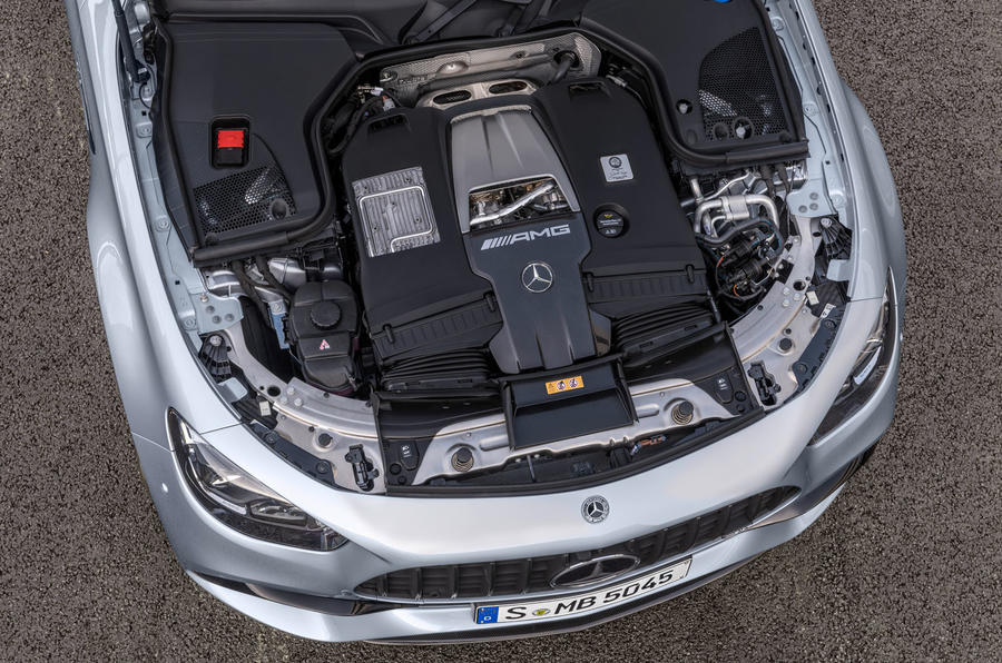 2020 Mercedes-AMG E63 facelift - saloon engine