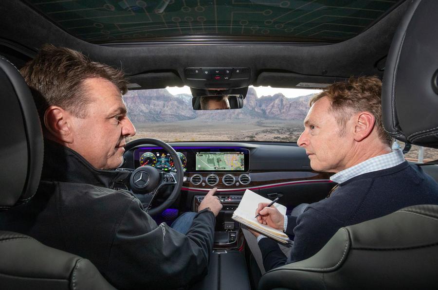 Mercedes-Benz E-Class 2020 prototype ride - Greg Kable interview